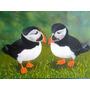 Papagaios Do Mar - Pintura A Óleo Sobre Tela Painel