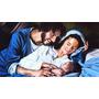 Pintura Sagrada Família Renascentista - Óleo Sobre Tela