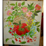 Pintura Óleo S Tela Cesto De Frutas
