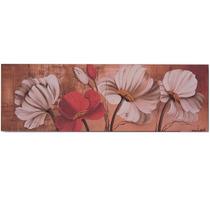 Quadro Decorativo Em Tela Com Flores