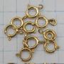 Oferta! 0120 Fecho Comum De Argola Ouro 18k 750 W