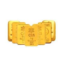 Barra De Ouro 24k 10 Gramas - Certificado Garantia