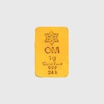 Barra De Ouro 24k 1 Grama 999 De Pureza