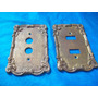 Antigo Espelho De Bronze Para Interrunptor (unidade)