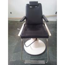 Cadeira De Barbeiro Antiga Ferrante Reclinável Super Nova