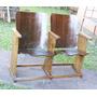 Móveis Antigos - Cadeiras De Cinema Em Madeira Retrátil