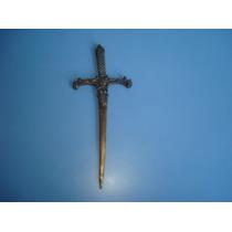Antigo Abridor De Carta Em Forma De Espada De Bronze