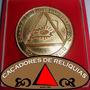 Medalha Maçonica Comemorativa 1979 Instalação Do G.o.e.r.j