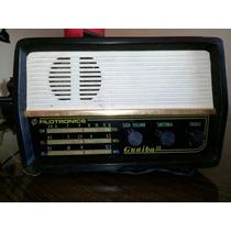 Rádio De Cabeceira Filotronics Guaiba Il Am 3 Faixas Anos 60
