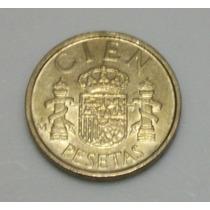 Moeda Espanha 100 Pesetas Ano 1989