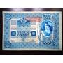 Cédulas Antigas Austria (1902) 1000 Kronen (não Dobradas)