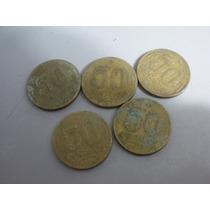 Moedas Antigas De 50 Centavos 1955/49/54/45/47
