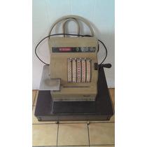 Caixa Máquina Registradora Ncr Antiga