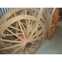 Liquidação! Roda De Carroça Antiga Por Unidade! 1,10 Diâm!