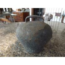 Sino, Sincerro Ou Badalo Antigo Em Bronze.