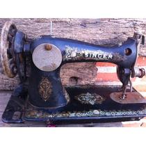 Máquina De Costura Singer Antiga Decorativa