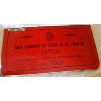 Caderneta Poupança Cx Economica Esp 1939 Caixa Economica