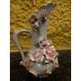 Antiga Miniatura Jarra Em Porcelana - R 2146
