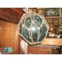 Antiguidade Boia Nautica Vidro Antigo