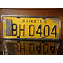 Antiga Placa Automotiva Rs - Bh 0404