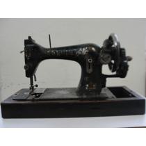 Máquina De Costura Antiga Elgin Manual