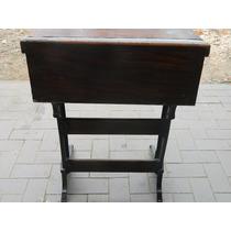 Frente De Cadeira Escolar Antiga Ideal Madeira E Ferro