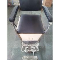Cadeira De Barbeiro Antiga Ferrante - Excelente Estado