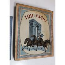 Caixa De Papéis E Envelopes De Linho Luxo Triumpho
