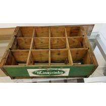 Antiga Caixa De Refrigerante Mineirinho-raridade