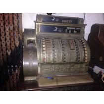 Máquina Registradora Antiga Bronze 1910 - Pedro