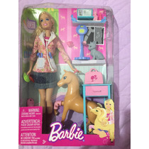 Barbie Veterinária - Na Caixa
