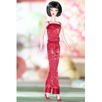 Barbie Collector Silkstone Chinoiserie Red Midnight
