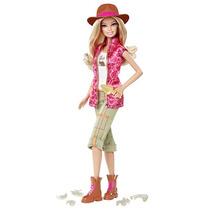 Boneca Barbie Quero Ser Caça Dinossauros
