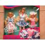 Barbie Irmaes De Vestido De Renda