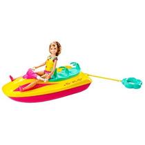 Boneca Barbie Jet Ski Das Irmas Mattel Bebe Store