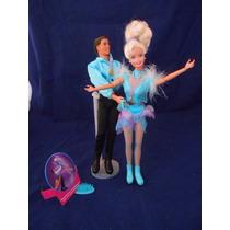 Casal Barbie & Ken Patinador De Gelo Olimpico 1997 Taffy