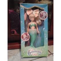 Boneca Barbie Sereia Importada Na Caixa Antiga Anos 90