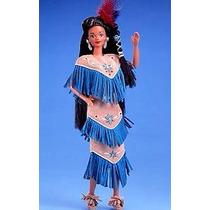 Native Barbie Dotw - Índia Americana Nunca Removida Da Caixa