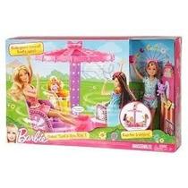 Barbie Carrosel Das Irmas - Mattel
