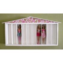 Porta Bonecas - Barbies E Outras Bonecas - Casa Da Barbie