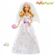 Boneca Barbie Fairy Noiva