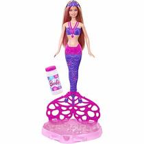 Barbie Fairy Sereia Bolhas Mágicas - Mattel