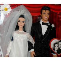 Barbie Collector Noivos Elvis E Priscilla No Brasil