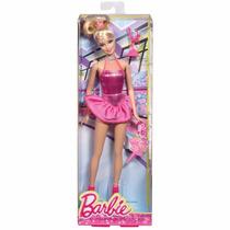 Boneca Barbie Patinadora Gelo Fashion Trofél Menina Mattel