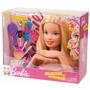 Barbie Cabeça Da Boneca Para Pentear E Maquiar C/ Acessórios