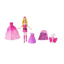 Boneca Barbie Filme Super Princesa Kit Bolsa Menina Mattel