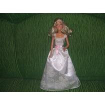 Boneca Barbie Noiva Glitter Mattel