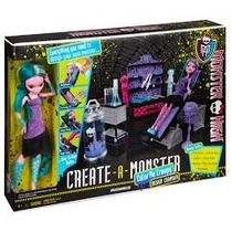Monster High Create-a-monster Colo-me-creepy Design Chamber