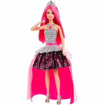 Boneca Barbie Musical Rock In Royals - 2 Em 1 - Mattel