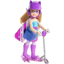 Boneca Barbie Super Princesa Chelsea Azul Brinquedo Mattel
